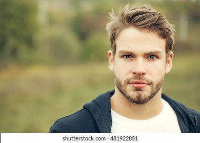 Brown Hair Blue Eyes Man High Res Stock Images Shutterstock