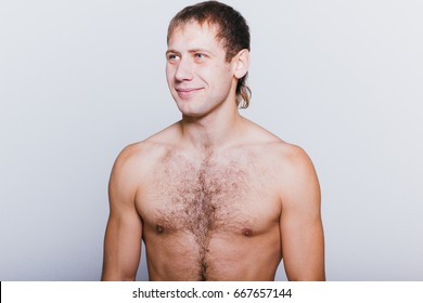 Hairy chested muscle