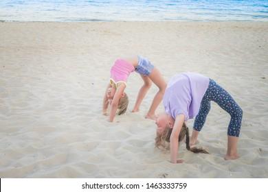 Little Girl Doing Splits Images, Stock Photos & Vectors | Shutterstock