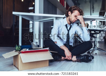 Young handsome businessman light modern office stock photo edit now