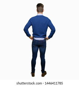 Guy Standing Backwards