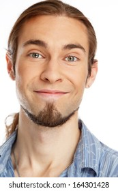 Young handsome man with beard
