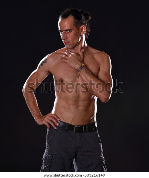 Young Boy Red Hair Naked Torso Stock Photo (Edit Now