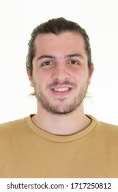 Jugendhandwerkliches Portrait für Personalausweis Führerschein Personaldokument Lichtbild