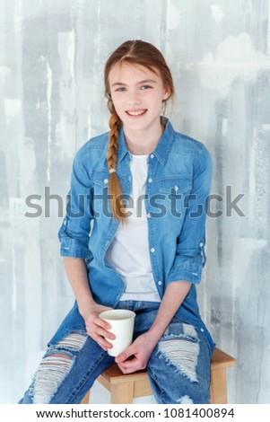 Will cute teen girl jeans speaking
