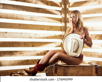 dusty-cowgirls-lingerie-half-nude
