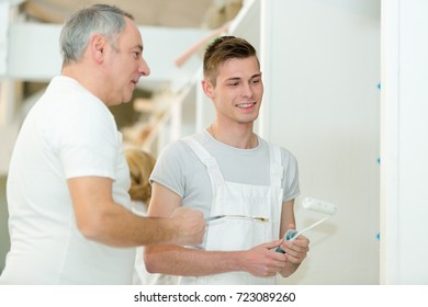 young house painters apprentice with mentor