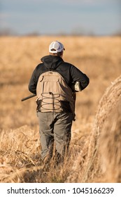 A young Hunter out Pheasant Hunting in Iowa