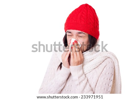Blow nose fetish hanky handkerchief
