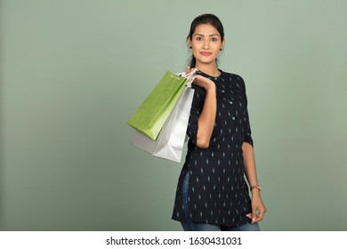 Indian Women With Gifts Stock Photos Images Photography Shutterstock