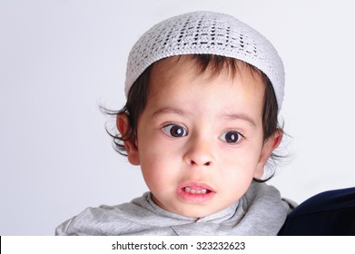 young innocent arab child
