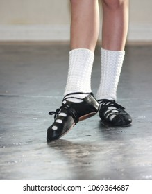 Young Irish Dancer in Ghillies
