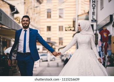 Muslim Couple Images Stock Photos Vectors Shutterstock