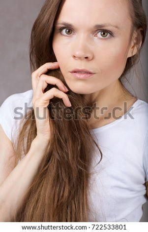 Young Lady Between 30 40 Years Stock Photo Edit Now 722533801