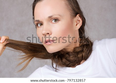 Young Lady Between 30 40 Years Stock Photo Edit Now 797132857