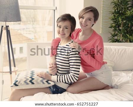 autentisk lesbisk porno
