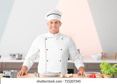 Chef Kitchen Images, Stock Photos & Vectors   Shutterstock