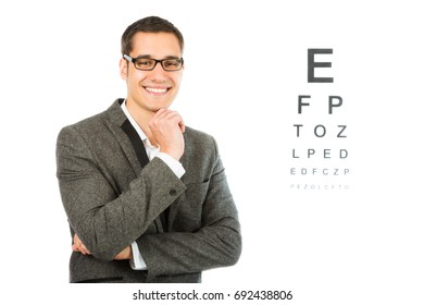 Young Male Optician