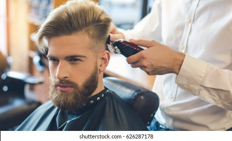 Man Hairstyle Images Stock Photos Vectors Shutterstock