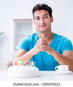 Stupendous Happy Birthday Cake And Candles Stock Photos Images Photography Personalised Birthday Cards Xaembasilily Jamesorg