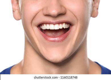 Perfect Teeth Man Images, Stock Photos & Vectors ...