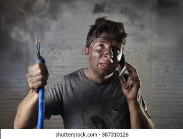 Imagenes Fotos De Stock Y Vectores Sobre Funny Electrician