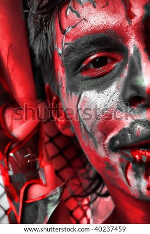 Young Man Soul Hell Stock Photo Edit Now 40237459 Shutterstock