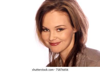 Young model portrait