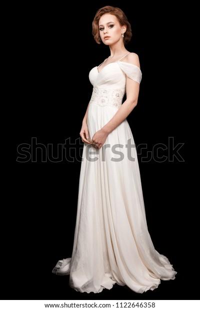 Young Model Wedding Dress Makeup Wedding Stock Photo Edit Now