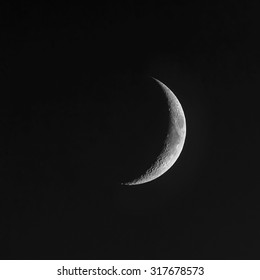 Young Moon - Waxing Crescent