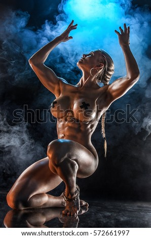 Bodybuilding women nude oiled opinion, the