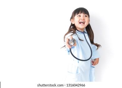 Young nurse image