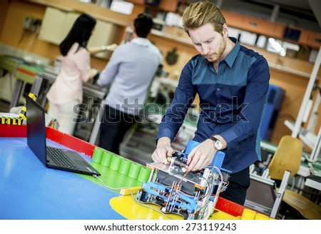 Young People Robotics Classroom Stock Photo Edit Now 273119243
