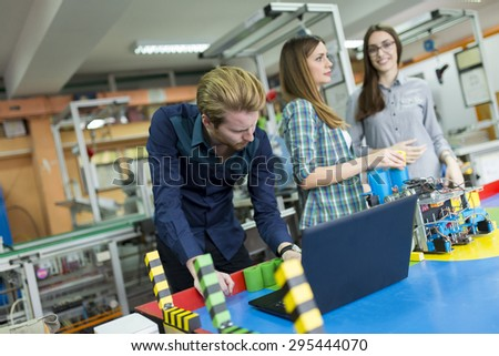 Young People Robotics Classroom Stock Photo Edit Now 295444070