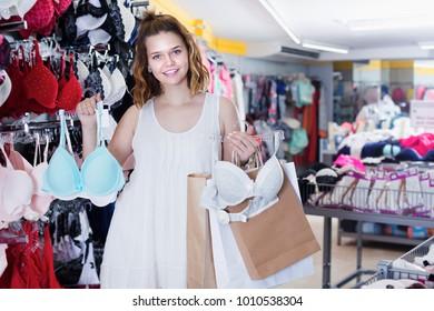 d1e364a6533f Woman Choosing Bra Images, Stock Photos & Vectors | Shutterstock