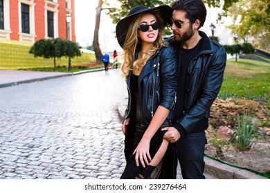 ee0afa4e9 Couple Leather Images, Stock Photos & Vectors   Shutterstock