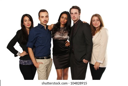 Young Professionals, group of 5 people