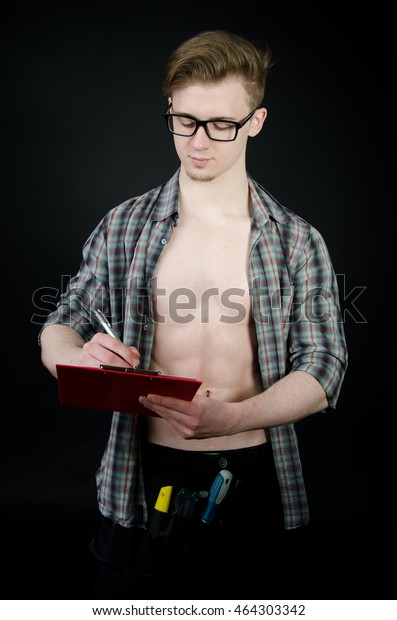 Young sexy architect