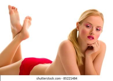 Sexy young crossdresser
