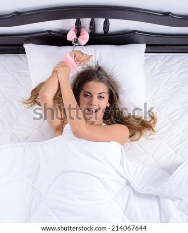 Goosebumps on naked ass