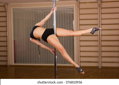 young sexy Pole Dancer