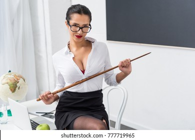 God knows! Sexy teacher doing job of call girl think, that