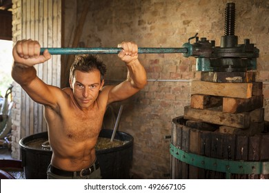 Shirtless Farmer Images, Stock Photos & Vectors | Shutterstock