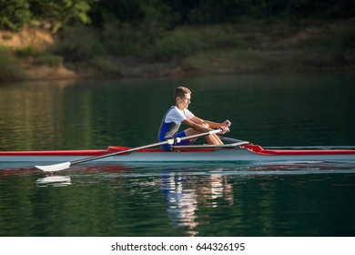 Single Scull Images, Stock Photos & Vectors   Shutterstock