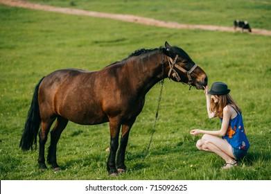 Horse naked girl .:: Forbidden