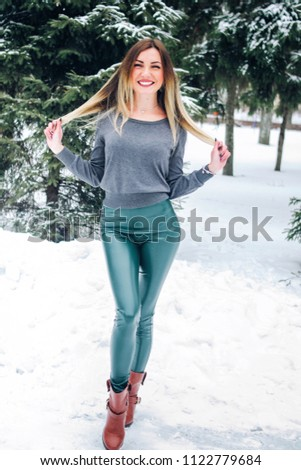 1a0c4e5625 Young Slim Blonde Ukrainain Woman Wearing Stock Photo (Edit Now ...