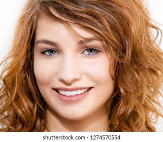 Young, smiling woman