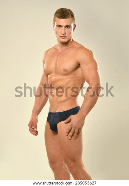 Handsome Sexy Young Man Naked Torso Stock Photo (Edit Now