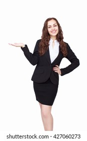 Young succesfull businesswoman