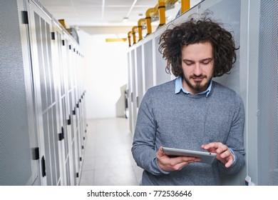 Young technician working